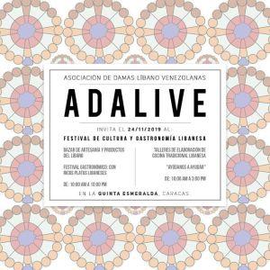 Vuelve el gran bazar y festival gastronómico Adalive