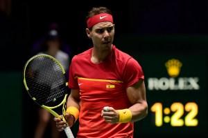 Rafael Nadal lleva a España a cuartos de la Copa Davis