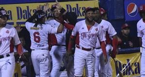 Tigres venció a Cardenales y extendió su cadena de triunfos: Resultados de la Lvbp del #20Nov