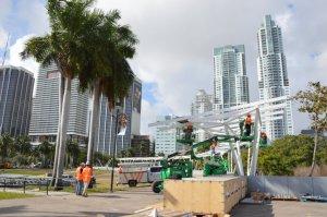 """En Miami, Bayfront Park """"se viste"""" de energía solar para cuidar el medio ambiente"""