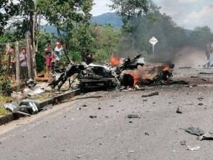 Estalla en Colombia carro bomba atribuido a ELN sin dejar víctimas