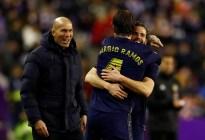 Real Madrid vence a Valladolid con gol de Nacho y es único líder en liga española