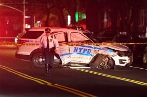 Cuatro policías hospitalizados luego de que sus SUV de Nueva York chocan en el Bronx