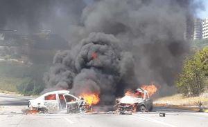 Fuerte accidente automovilístico en Barquisimeto dejó varios fallecidos y dos lesionados (Fotos)