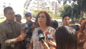 Tamara Adrián solicitó a la CEV apoyar a los diputados perseguidos por el régimen de Maduro