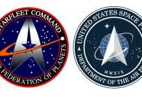 Similar al de Star Trek: Trump revela el nuevo logo de la Fuerza Espacial de EEUU