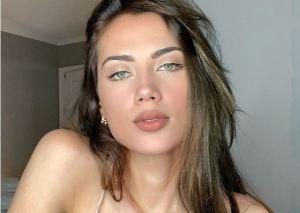 ¡Más divina que nunca! Georgina Mazzeo cautivó las redes con un bikini blanco en la playita (FOTO)