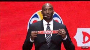 El día que Kobe Bryant celebró un triunfo de Venezuela