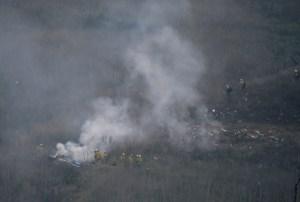 EN FOTOS: El lugar donde se estrelló el helicóptero donde viajaba Kobe Bryant