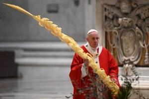 El papa Francisco inicia una Semana Santa sin fieles por el coronavirus (Fotos)