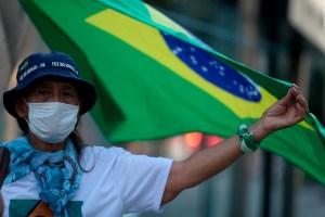 Brasil se acerca a los 500 muertos por coronavirus tras 54 fallecidos en un día
