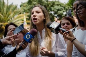 Fabiana Rosales: La democracia es la única vía para el bienestar de las familias venezolanas