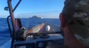 Armada de EEUU publica un video sobre sus operaciones antidrogas cerca del Caribe