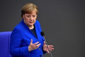 Merkel declina invitación de Trump para cumbre presencial del G7 en Washington