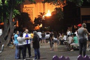 Dos personas heridas luego de la explosión de la gandola en la Francisco Fajardo #23May