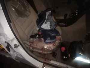 En atentado, hirieron a comisionado jefe de la PNB a la altura del túnel La Planicie (FOTO)