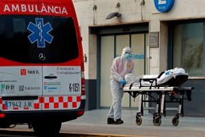 Aumenta en España las muertes diarias por coronavirus