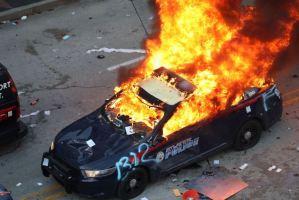 La ira por la muerte de George Floyd desencadenó disturbios en Nueva York (Fotos)
