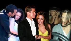 Las infidelidades más escandalosas y recordadas de las estrellas de Hollywood