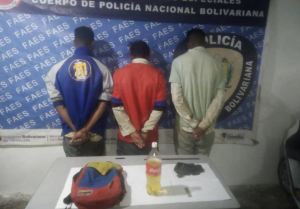 Detuvieron a tres sujetos por provocar un incendio en El Junquito (Fotos)