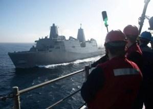 Marina de los EEUU proporciona detalles de la prueba del sistema de armas láser de alta energía