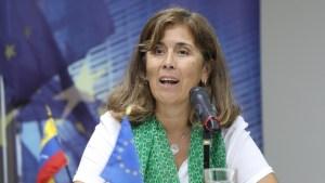 Embajadora de la UE en Venezuela habló tras la suspensión de su expulsión del país