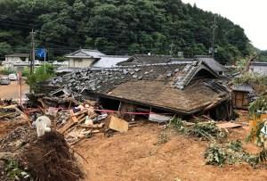 Al menos 16 muertos en Japón por las lluvias torrenciales
