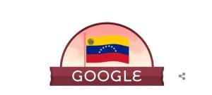"""Google celebra el Día de la Independencia de Venezuela con un """"doodle"""" especial"""