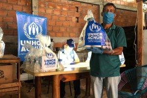 Acnur entregó kits de higiene por la pandemia del Covid-19 en Táchira (fotos)