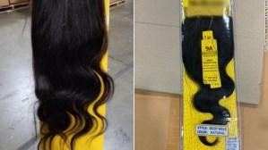 Incautaron 13 toneladas de cabello humano en Nueva York
