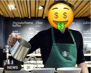 Lo sorprendieron con una propina de 99 mil dólares porque recomendó el uso del tapabocas