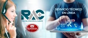 RAC es designado Servicio Técnico Oficial de la marca Condesa