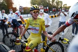 Tadej Pogacar se convierte en el primer esloveno en ganar el Tour de Francia