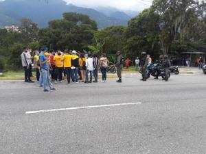 Denuncian que cuerpos de seguridad de Maduro impiden realizar protesta pacífica en Mérida #13Sep (Foto)