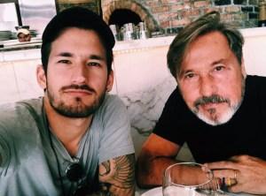 Hijo de Ricardo Montaner grabó a su padre sin ropa