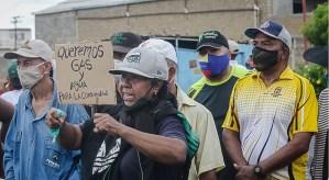 En Puerto Ordaz prometen protestar hasta que les pongan agua y gas a las comunidades