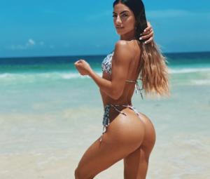 Bikini, nalgas y acción: La cubanita más sexy de Instagram mostró su retaguardia