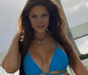 Con razón Fernando del Rincón está loco por ella: Las fotos en bikini de Jullye Giliberti