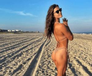 ¡Y así se ponen duras las nalgas! La sensual rutina de ejercicios de Nina Adgal (VIDEO)