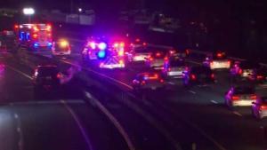 Al menos cinco heridos tras el choque de dos carros en Brooklyn