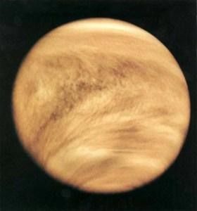 El gas fosfina detectado en las nubes de Venus podría ser un signo de vida extraterrestre
