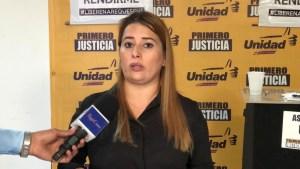 Diputada Milagros Paz alerta sobre condiciones precarias de hospitales en el estado Sucre