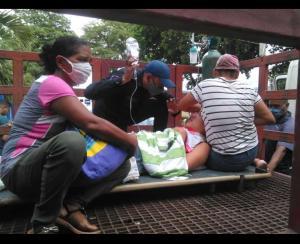 Ambulancia no tenía gasolina: Por la mordida de una culebra, joven murió mientras era trasladado en camión del gas en Cumanacoa