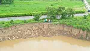 Al menos 400 mil héctareas podrían quedar bajo las aguas por crecida de ríos en el Sur del Lago de Maracaibo