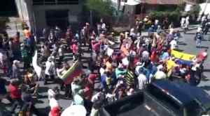 El pueblo de Urichache en el estado Yaracuy sale a las calles a denunciar por las precarias condiciones en que viven #22Sep (VIDEO)