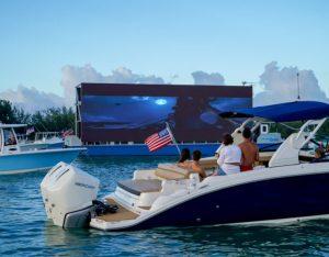 El encanto de un cine flotante llegará a Miami este fin de semana