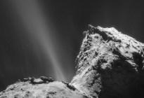 Científicos detectaron por primera vez una aurora boreal sobre un cometa