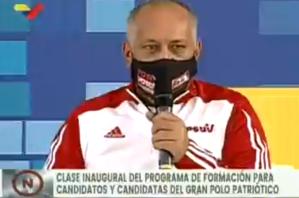 """El chiste del día: Diosdado Cabello recomendó alejarse de """"las tentaciones de la corrupción"""" (Video)"""