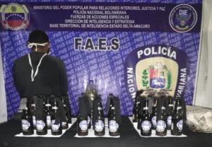 Faes vinculó a un detenido con supuesto atentado contra gobernadora chavista en Delta Amacuro