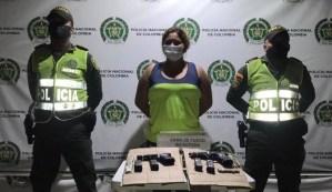 Cayó mujer que surtía de armas a las bandas Yeico Masacre y Los Meleán en Colombia